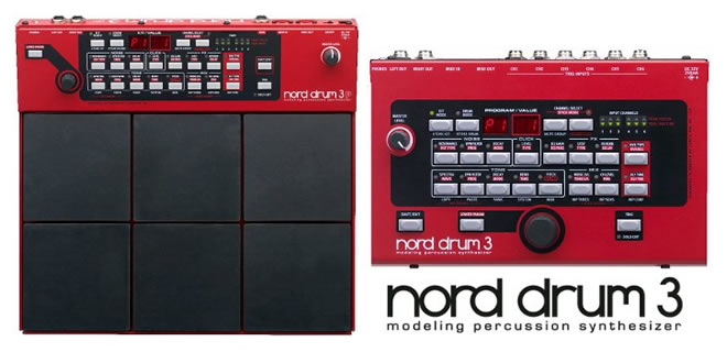 Nord Drum 3 and Nord Drum 3P
