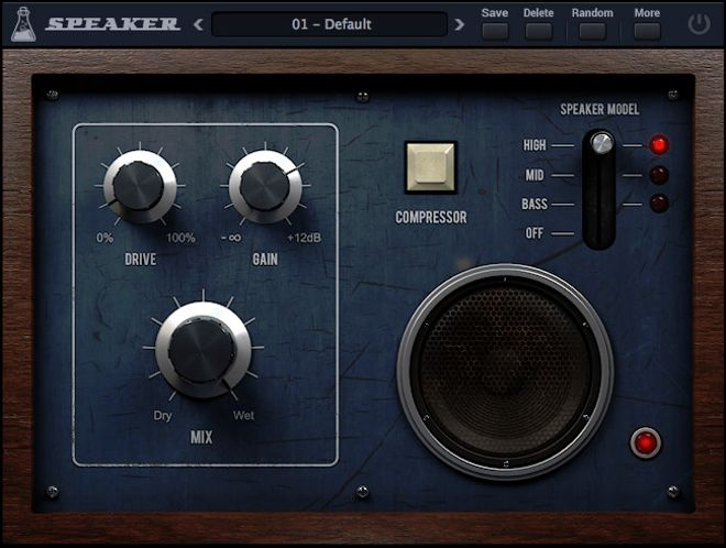 Speaker AudioThing VST Plugin