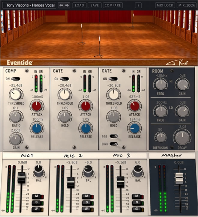 Eventide Tverb Reverb Plugin