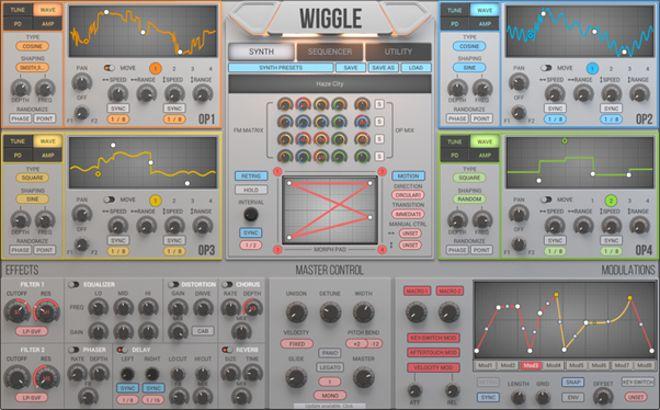 WIGGLE Synthesizer Plugin