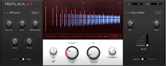 Native Instruments REPLIKA XT Multi-Mode Delay