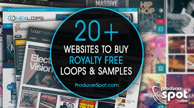 best websites to buy royalty free loops samples