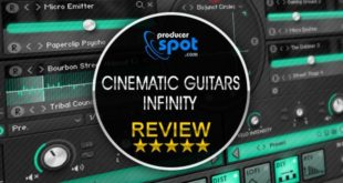 Review: Cinematic Guitars Infinity by Sample Logic