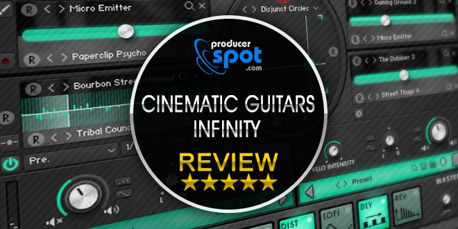 Cinematic Guitars Infinity by Sample Logic