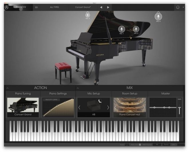 Piano V Virtual Instrument