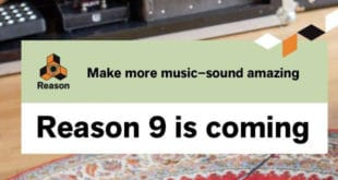 Reason 9 Revealed by Propellerhead
