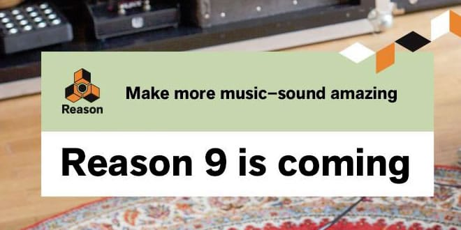 Reason 9 Music Production Software