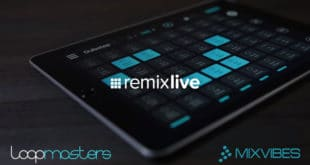 Remixlive Free iOS App + Free Pack by Loopmasters