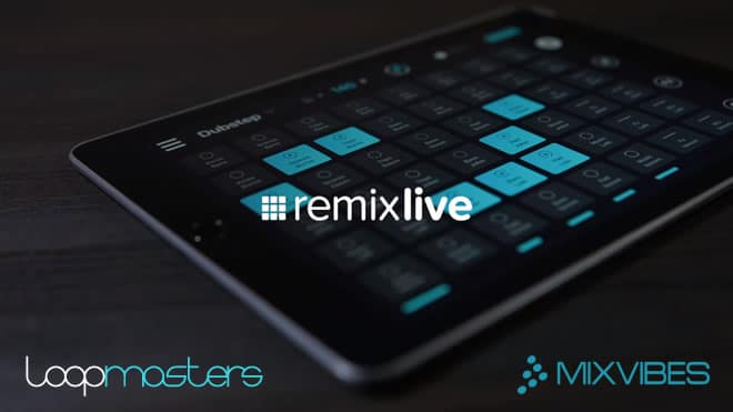 Remixlive Free iOS App + Free Pack by Loopmasters ...