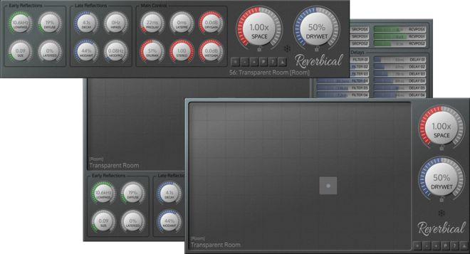 Reverbical Stereo Reverb Plugin