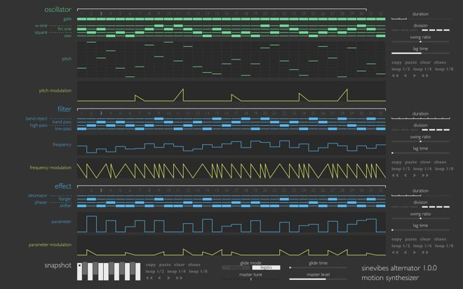 Alternator MAC Synthesizer Plugin