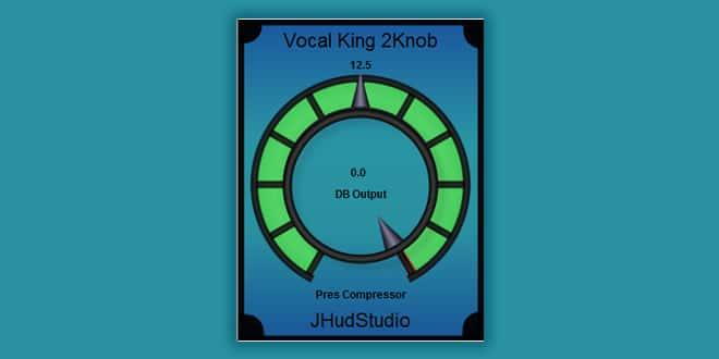 Vocal King 2Knob Free Vst
