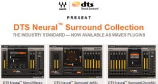 DTS Neural™ Surround Plugins Collection by Waves