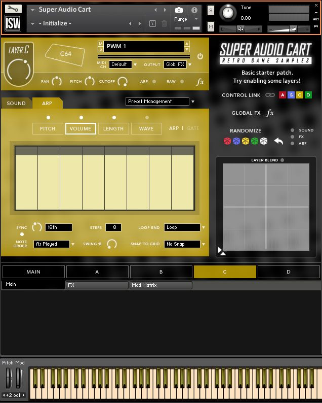 Super Audio Cart Kontakt Library