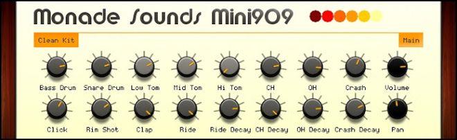 Mini TR-909 FREE Drum Machine Plugin