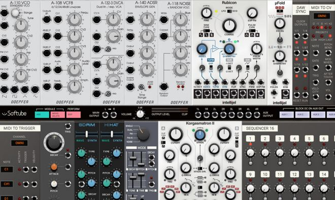 Softube Modular Synth Plugin