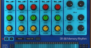 SR-88 Virtual Drum Machine VST/AU Plugin by AudioThing