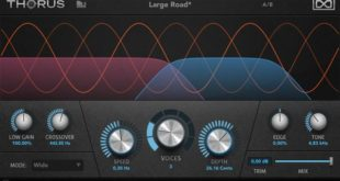 Thorus Polyphaser Modulation Effect Plugin by UVI