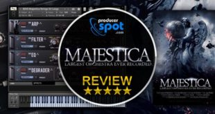 "Review: ""Majestica"" Kontakt Instrument by 8Dio"