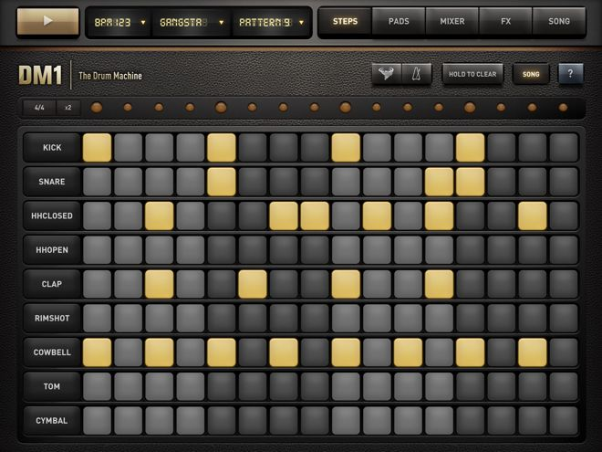 DM1 Drum Machine App