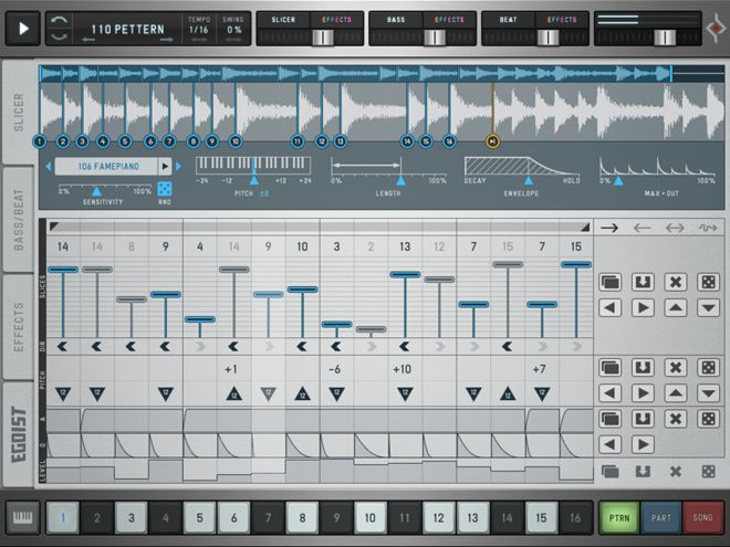 Egoist iPad Drum Machine