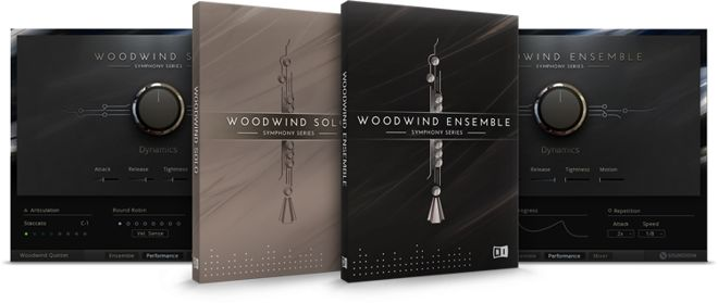 Native Instruments Woodwind Library