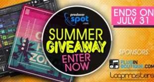 Summer Giveaway 2016 at ProducerSpot
