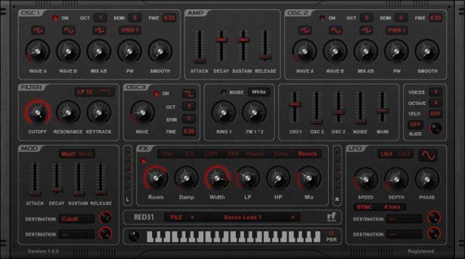 RED31 Synthesizer VSTi