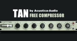TAN Free Compressor Plugin by Acustica Audio