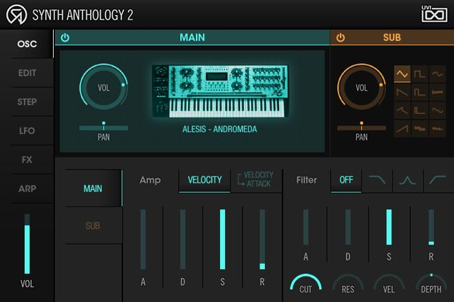 UVI Synth Anthology 2