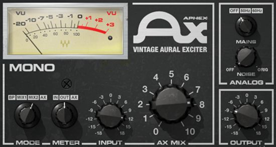 Aphex Vintage Aural Exciter Plugin