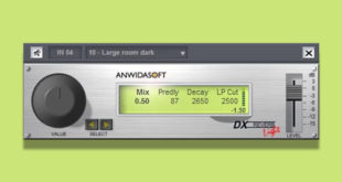 DX Reverb Light 3.0 FREE VST Plugin by ANWIDA Soft