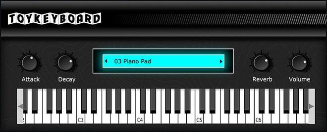 Toy Keyboard FREE VST Plugin