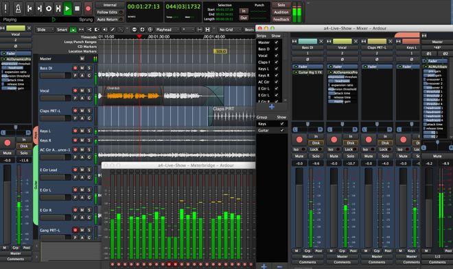 Ardour DAW Music Software