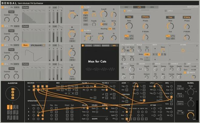 Bengal Semi-Modular Ableton Live Synth