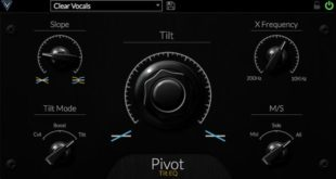 Pivot Tilt EQ Plugin Released by Venomode