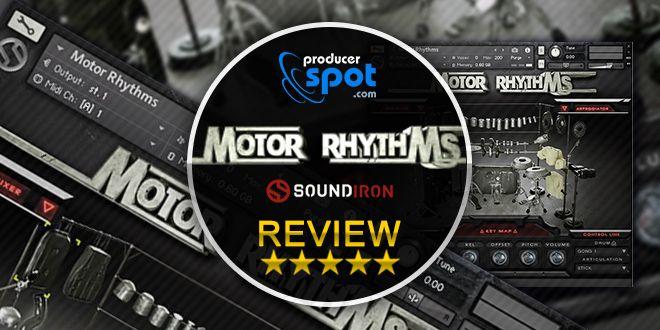 Motor Rhythms Kontakt Drum Library
