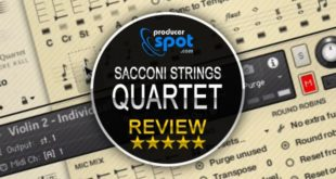 Review: Sacconi Strings Quartet by Spitfire Audio