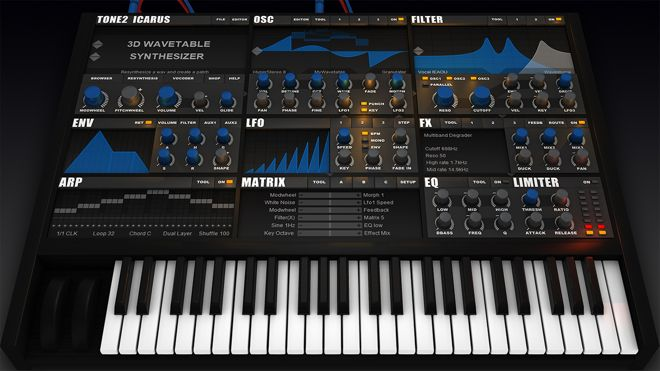 Icarus Software Synthesizer