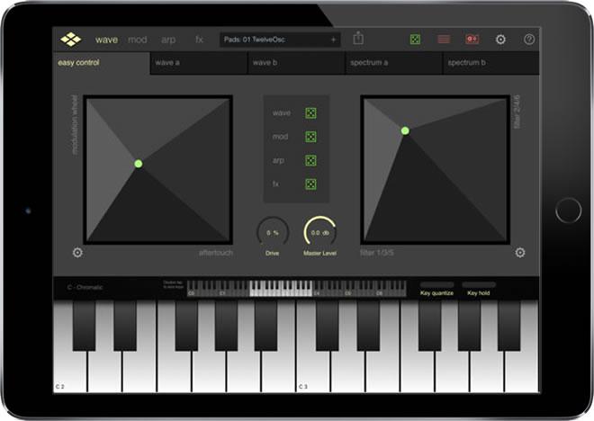 Addictive Synth iPad Synthesizer App
