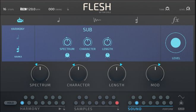 FLESH Sub engine