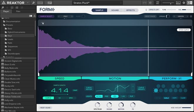 Form Synth Presets