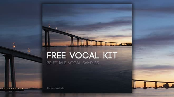 FREE Vocal Kit, Female Vocal Samples by Ghosthack • ProducerSpot