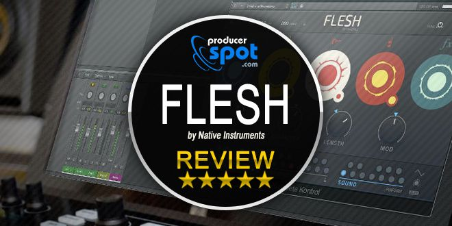 FLESH Reaktor Instrument by Native Instruments
