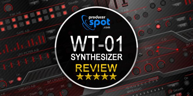 Review: WT-01 RED VSTi Synthesizer by Bitsonic • ProducerSpot