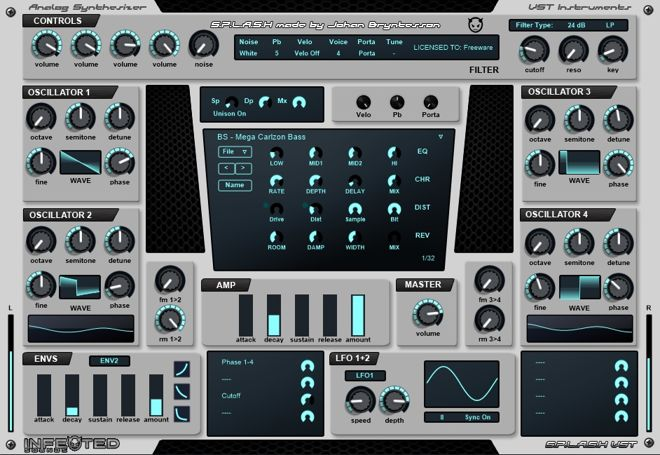 SPALSH Free VST Synth Plugin