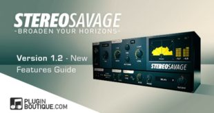 StereoSavage Updated to Version 1.2.0 by Plugin Boutique
