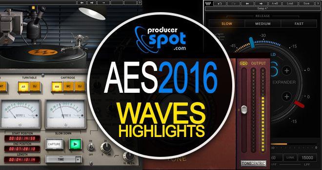 AES 2016: Waves Audio New Plugins