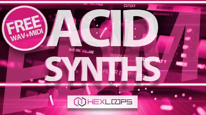 Free ACID Synth Wav Loops