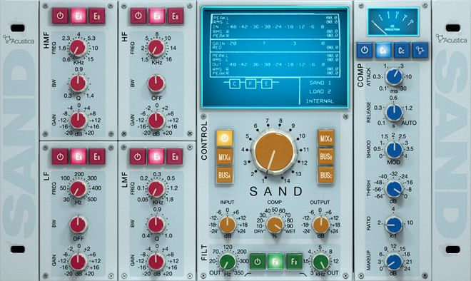 Acustica Audio SAND Plugin Review